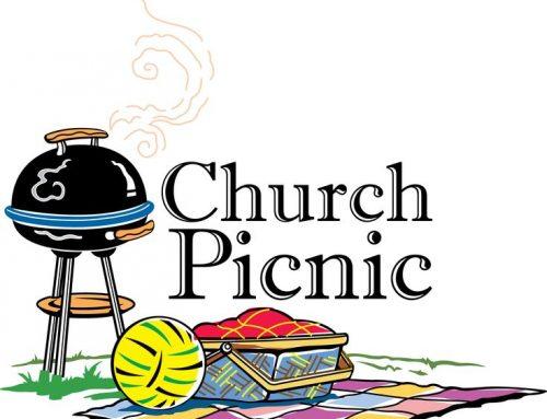 Church Picnic on Sept. 8!