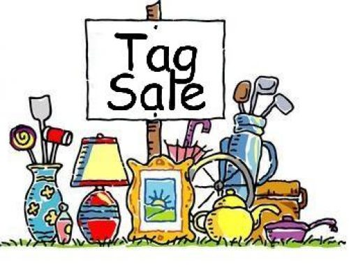 Tag Sale on Nov. 2!