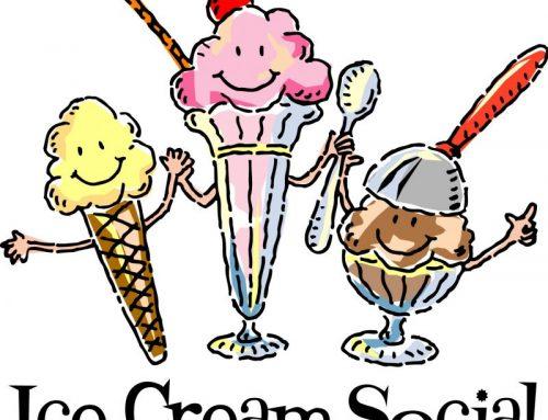 Ice Cream & Apple Fritters Social on Sep. 28!