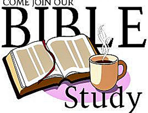 Virtual Bible Study Thursday at 11 a.m.